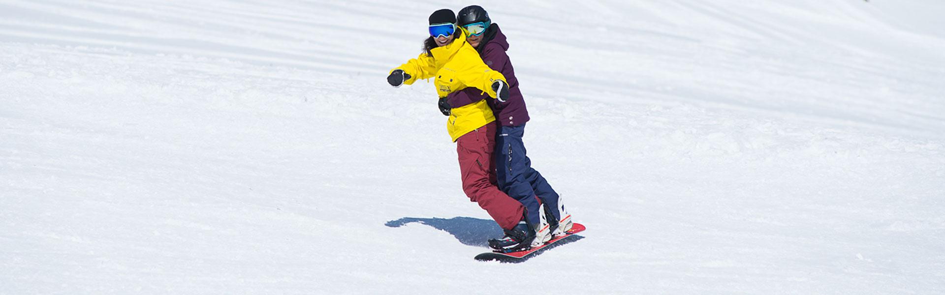 Tandem Snowboard